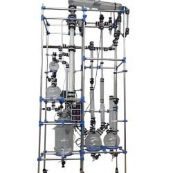 Glass Reactor with Rectification Column 250x250 1