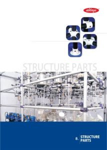 Structure Parts in Industrial Glassware Brochure Ablaze Export Pvt Ltd Vadodara India