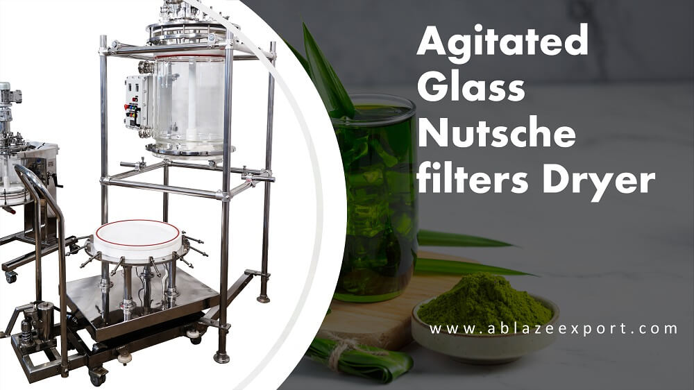 The Agitated Glass Nutsche filters copy