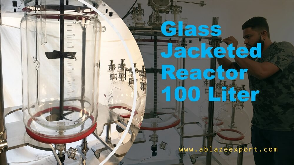 100L Glass Jacketed Reactor